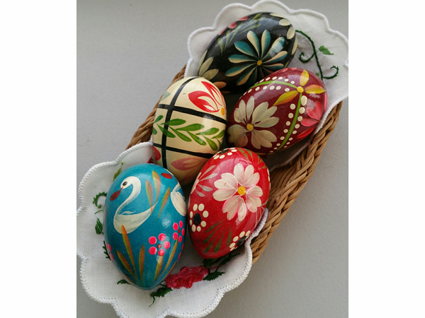 ポーランド クラクフで買ったイースター用卵