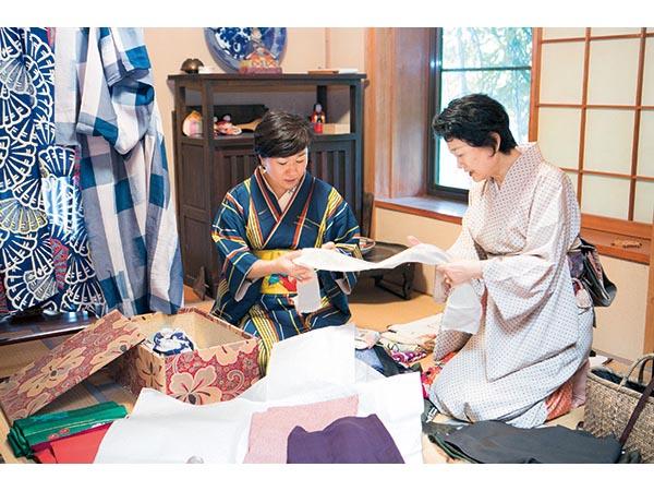 横山タカ子さんの着物