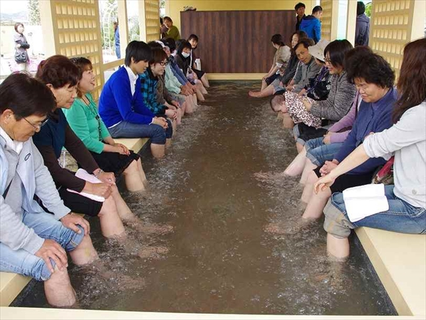 栃木の足湯