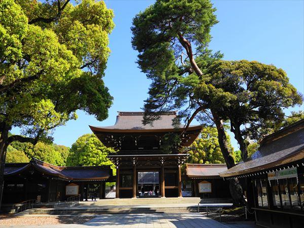 山王日枝神社で御朱印をいただく