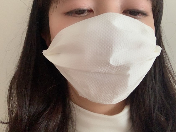 縫わずに簡単なキッチンペーパーマスクの作り方とは?