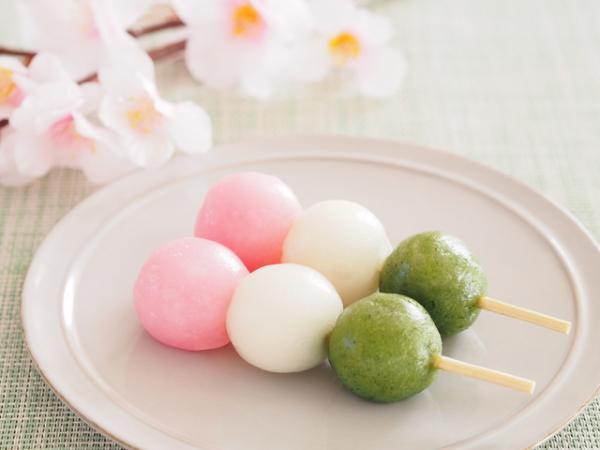 三色団子ってどうしてピンク、白、緑、なの?